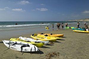 LaJolla Beach Kayaks_- photo copyright Peter Chigmaroff