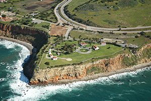 Point Vicente Lighthouse - photo copyright Bruce Perry